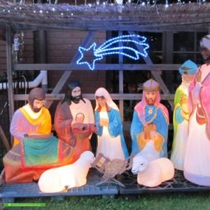 Christmas Light display at 15 The Grove, Coburg