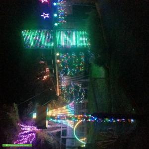 Christmas Light display at 55 Besgrove Street, Rosebud