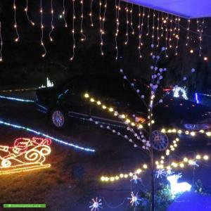 Christmas Light display at 6 Neasham Drive, Dandenong North