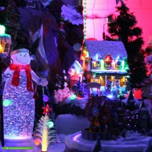 Christmas Light display at 5 Tindle Street, Redbank Plains