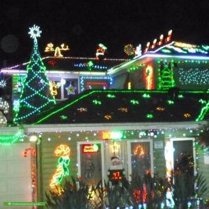 Christmas Light display at 37 Estelle Street, Oakleigh
