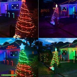 Christmas Light display at 37 Boundary Road, Heathcote
