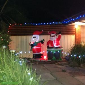 Christmas Light display at 14 Nicola Court, Salisbury Downs