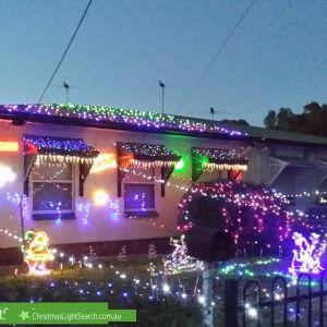Christmas Light display at 27 Downton Avenue, Salisbury North