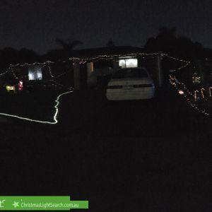 Christmas Light display at 18 Heath Street, Singleton