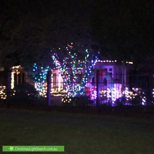 Christmas Light display at 362 Glenfern Road, Upwey