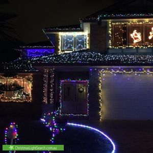 Christmas Light display at 696 Malabar Road, Maroubra