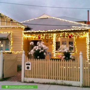 Christmas Light display at 10 Robbs Road, West Footscray