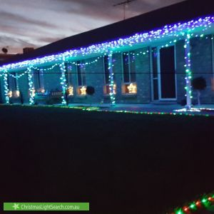 Christmas Light display at 15 Holmes Street, Old Noarlunga