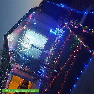 Christmas Light display at 8 Malabar Street, Byford