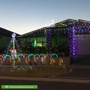Christmas Light display at 12 Clipstone Parkway, Butler