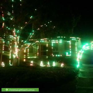 Christmas Light display at 4 Veronica Avenue, Chirnside Park