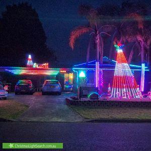 Christmas Light display at 7 Arrawarra Street, Narara