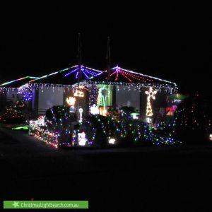 Christmas Light display at 8 Ring Court, Dandenong North