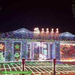 Christmas Light display at 33 Breens Road, Cranbourne West