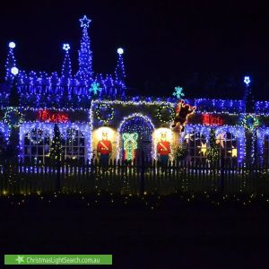 Christmas Light display at Rothschild Street, Woodcroft