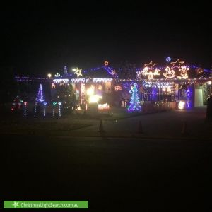 Christmas Light display at 11 Anna Street, Parafield Gardens