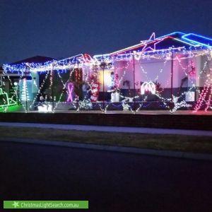 Christmas Light display at 6 Araucaria Boulevard, Byford