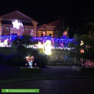 Christmas Light display at 80 Carlton Turn, Currambine