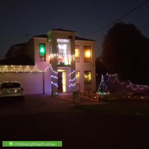 Christmas Light display at 8 Brennan Court, Altona Meadows