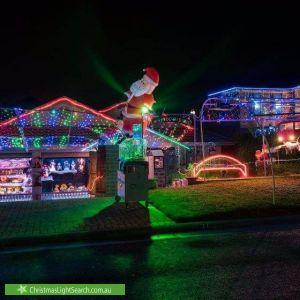 Christmas Light display at 27 Chain-O-Ponds Circuit, Mount Annan
