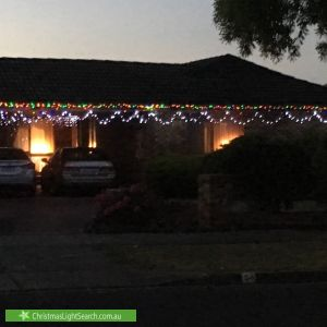 Christmas Light display at 54 Wallace Road, Wantirna South