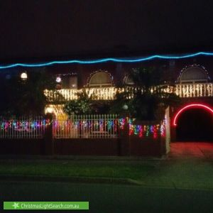 Christmas Light display at 1 Selkirk Avenue, Seaton