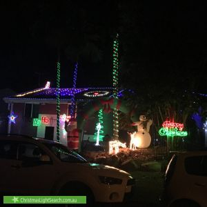 Christmas Light display at 18 Mankinna Street, Jindalee