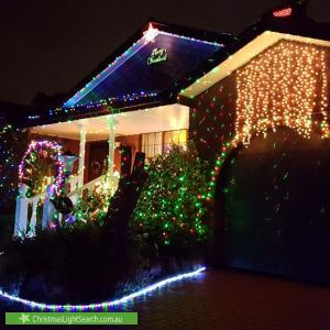 Christmas Light display at 35 Everingham Road, Altona Meadows