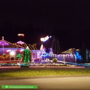 Christmas Light display at Lakeview Drive, Lilydale