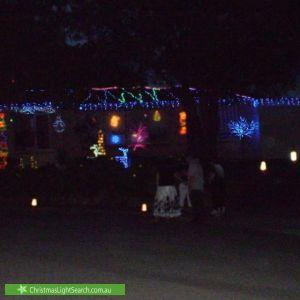 Christmas Light display at 4 Westall Court, Sheidow Park