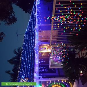 Christmas Light display at 1 Baxter Avenue, Surrey Downs