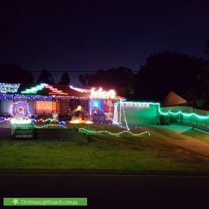 Christmas Light display at 20 Summerford Road, Aberfoyle Park