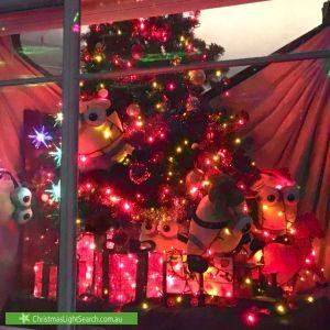 Christmas Light display at 15 Dunsterville Street, Sandringham