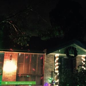 Christmas Light display at 3 Ryans Road, Eltham