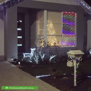 Christmas Light display at Revolution Avenue, Eglinton