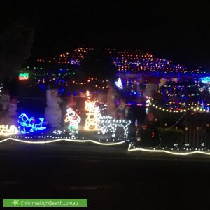 Christmas Light display at Goates Court, Hoppers Crossing