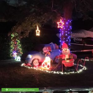Christmas Light display at 63 Marrett Drive, Ingle Farm