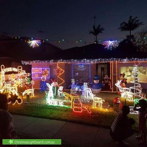 Christmas Light display at 101 Jubilee Avenue, Beverley Park