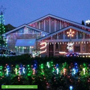 Christmas Light display at 51 West Parkway, Colonel Light Gardens