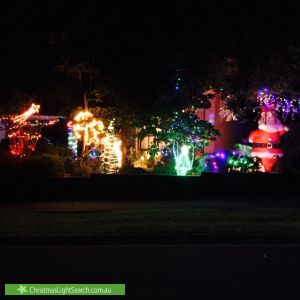 Christmas Light display at 7 Ireland Avenue, Wantirna South