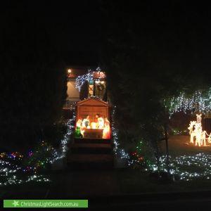 Christmas Light display at Oriana Avenue, Rostrevor
