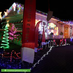 Christmas Light display at 94 Lorraine Street, Peakhurst Heights
