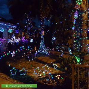 Christmas Light display at 60 South Terrace, Pooraka