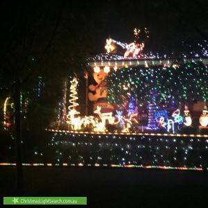 Christmas Light display at 21 Grevillea Road, Langwarrin