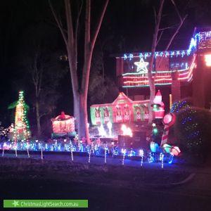 Christmas Light display at 40 Valonia drive , Eltham