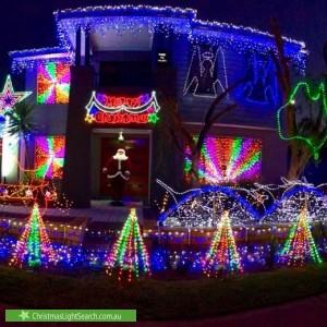 Christmas Light display at 4 Harrisdale Drive, Harrisdale