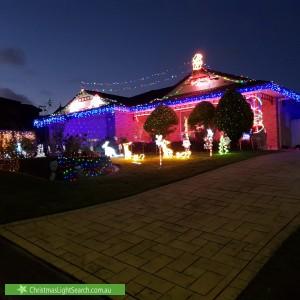 Christmas Light display at 21 Leilani Drive, Birkdale