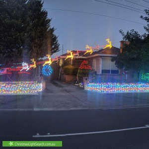 Christmas Light display at 64 Ardyne Street, Murrumbeena