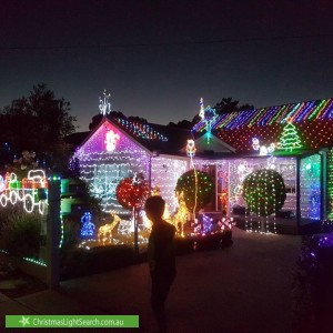Christmas Light display at 18 Zander Avenue, Nunawading